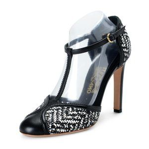 Salvatore Ferragamo EMANUELA Black & White Pumps